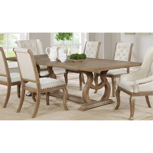 Rosenthal Drop Leaf Dining Table Canora Grey