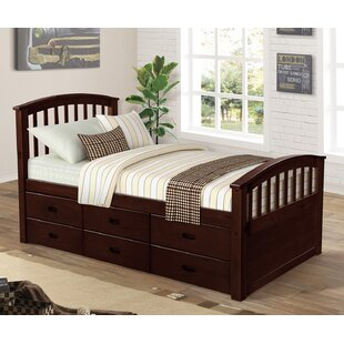 Damit Twin Bed with 6 Drawers by Harriet Bee