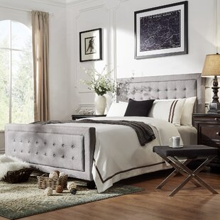 Woodside Upholstered Panel Bed by Three Posts Design