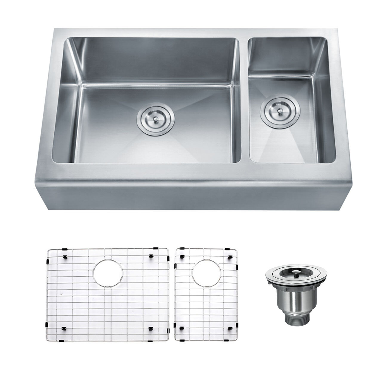 Double Basin A Kitchen Sink