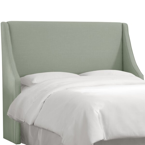 Maser Swoop Arm Upholstered Wingback Headboard by Joss & Main