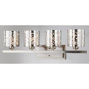 Reviews Dahl 4-Light Candle Wall Light By Orren Ellis