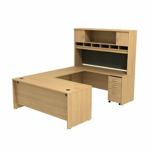 Series C 2 Piece U-Shape Desk Office Suite by Bush Business Furniture