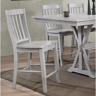Clennell 24 Bar Stool (Set Of 2) by Gracie Oaks New