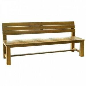 3-Sitzer Gartenbank Abacus aus Massivholz von Inko