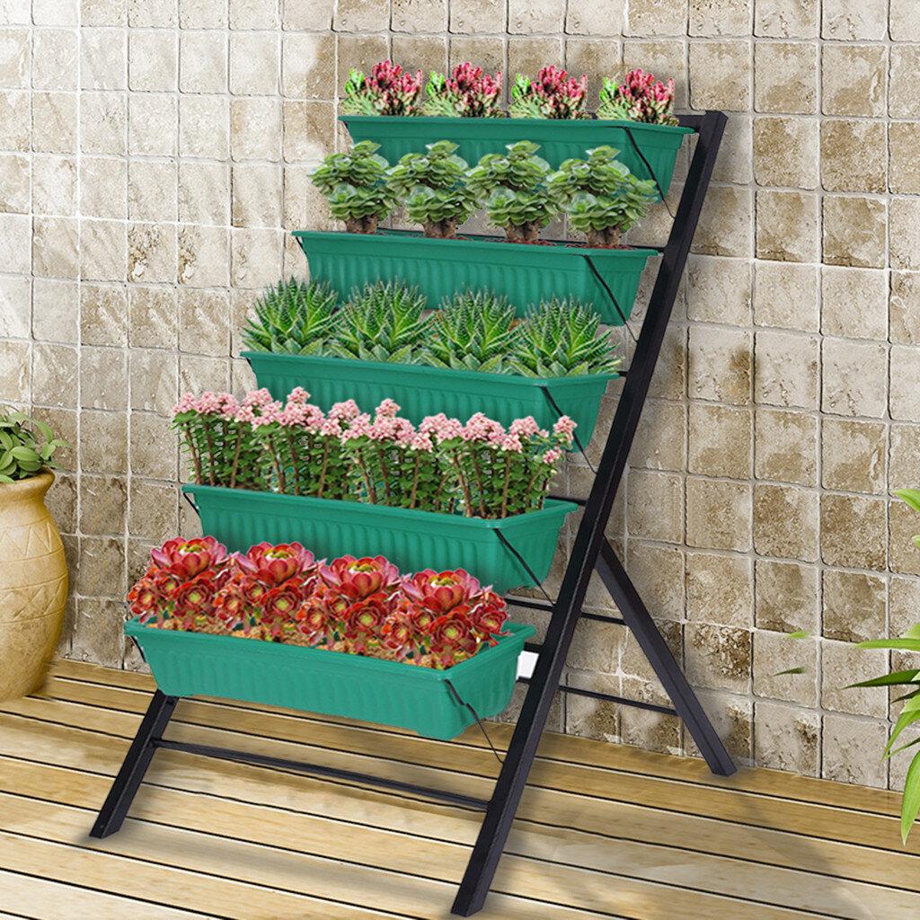 Medium Metal Wall Planters Vertical Gardens You Ll Love In 2021 Wayfair