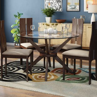 Tachevah Dining Set With 4 Chairs