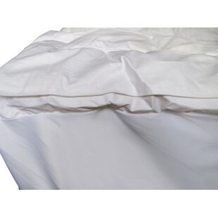 Featherbed Twin XL Mattress Pad By Alwyn Home