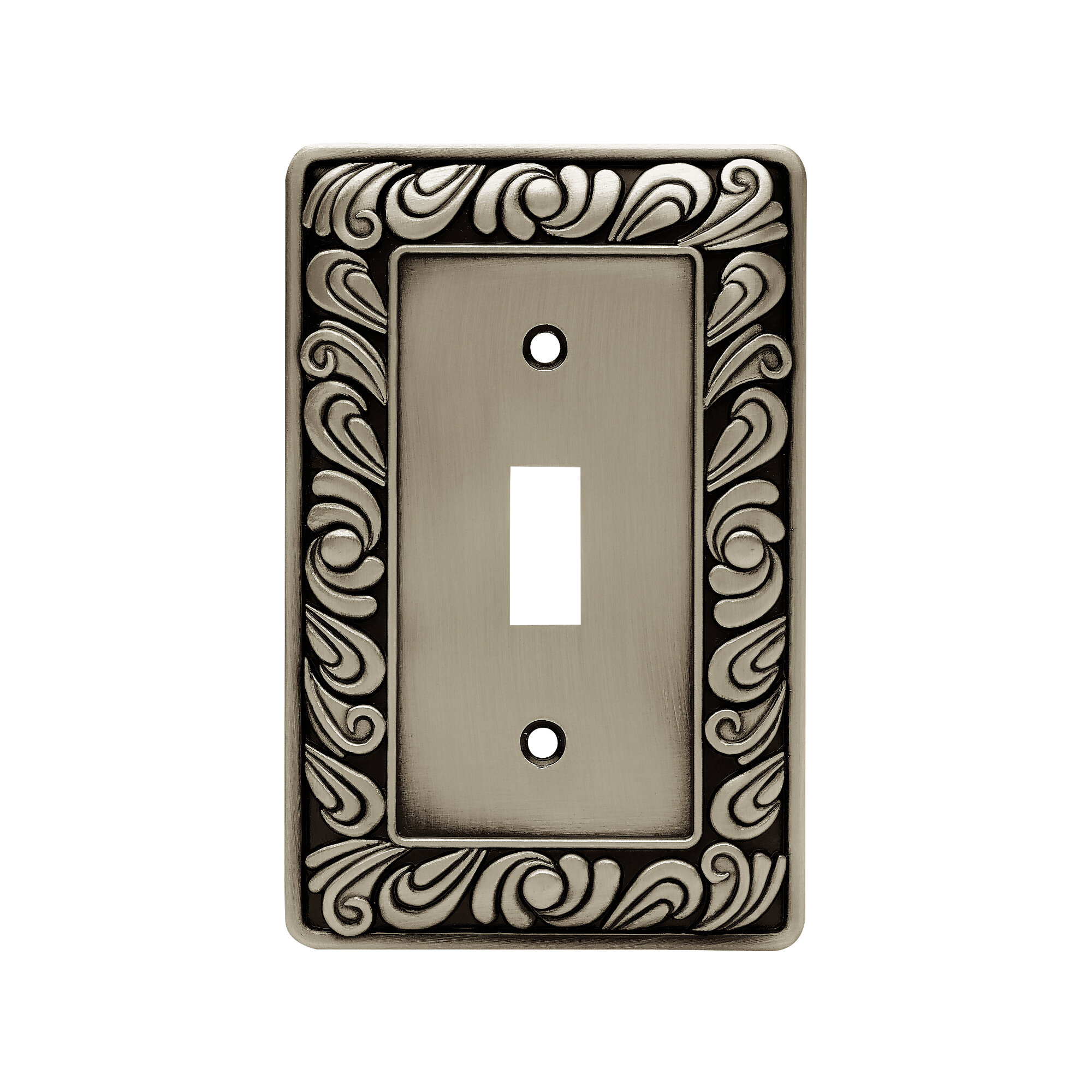 Franklin Brass Paisley 1 Gang Toggle Light Switch Wall Plate Reviews Wayfair