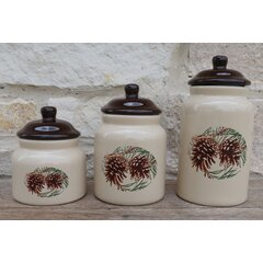 Cabin Lodge Ceramic Kitchen Canisters Jars You Ll Love In 2021 Wayfair