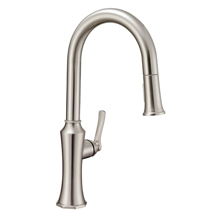 Draper Pull-Down Single Handle Kitchen Faucet
