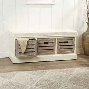 Best Reviews Sonderborg Wood Storage Bench By Laurel Foundry Modern Farmhouse