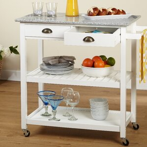 Brundidge Rolling Kitchen Cart by Charlton Home