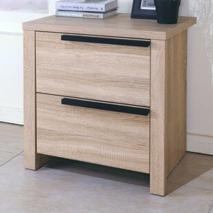 Clegg Elegant 2 Drawer Nightstand by Ivy Bronx