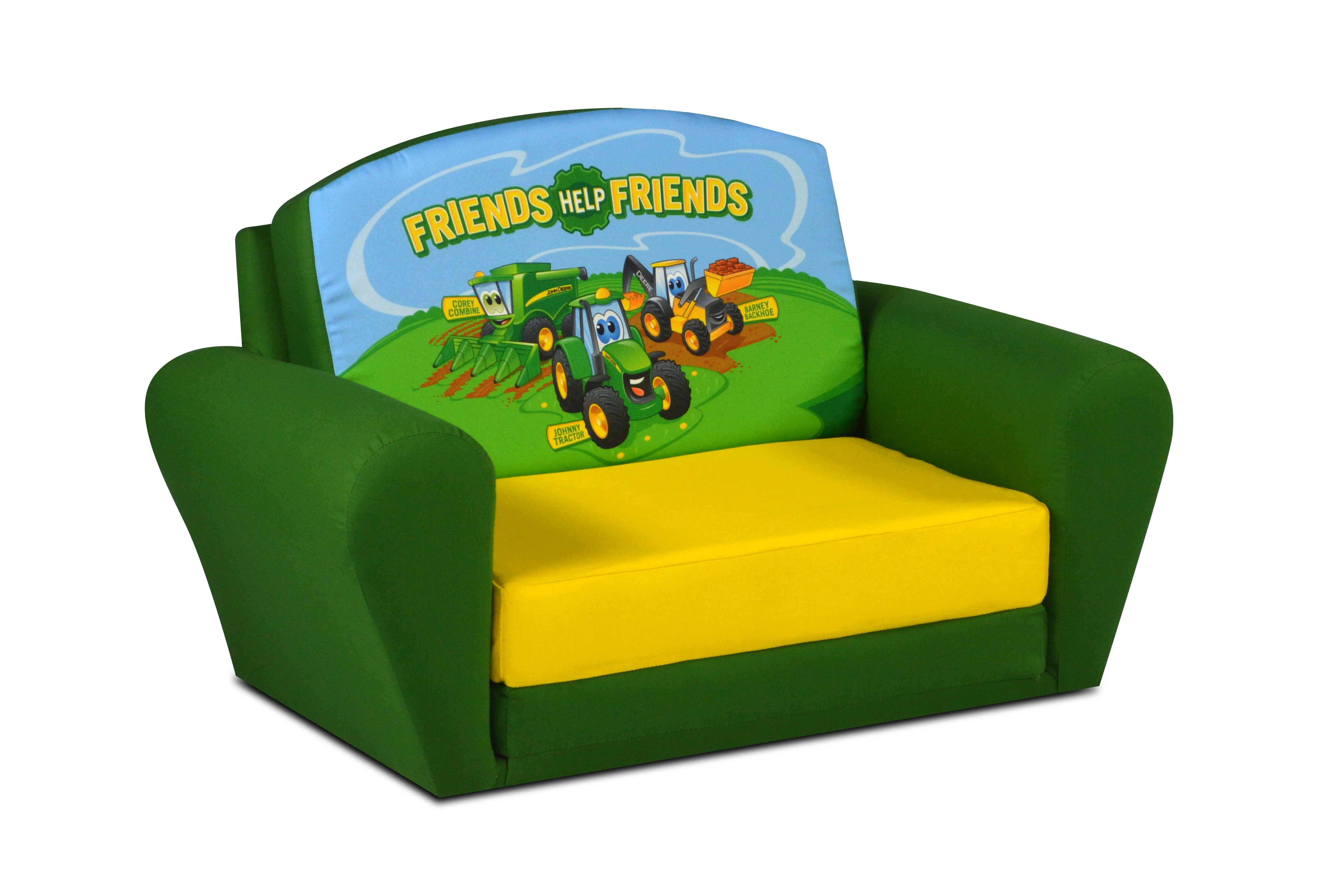 John Deere Ottoman : John deere johnny tractor sweet dreamer kids sofa