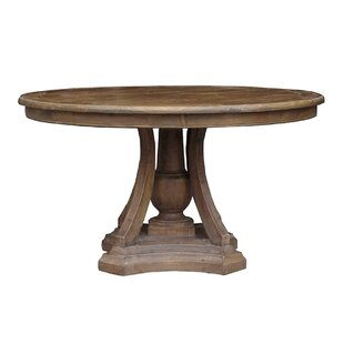 Aurora Solid Wood Dining Table Ophelia & Co.
