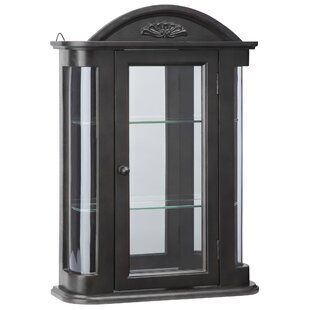 Rosedale Hardwood Wall Mounted Curio Cabinet by Design Toscano
