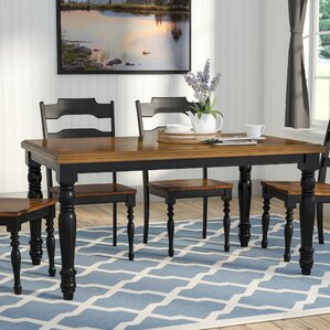 Cottage & Country Kitchen & Dining Tables You\'ll Love | Wayfair