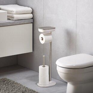 Alpine Industries Stainless Steel Bathroom Vertical Toilet Tissue Paper Holder Bathroom Accessories & Fittings