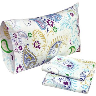 100% Cotton Flannel Multi-colored Sheet Set