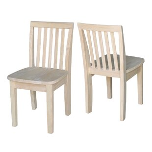 Online Reviews Severus Wood Ready to Finish Kids Desk Chair (Set of 2) ByMistana