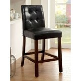 Minton Leatherette 25 Bar Stool (Set of 2) by Winston Porter