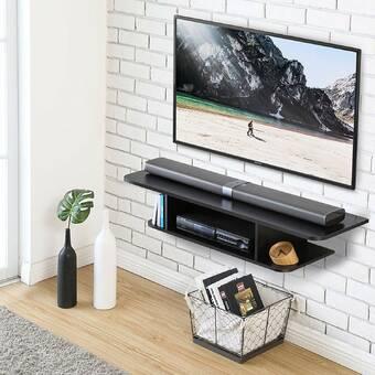 Ebern Designs Lansing Tv Stand For Tvs Up To 55 Reviews Wayfair