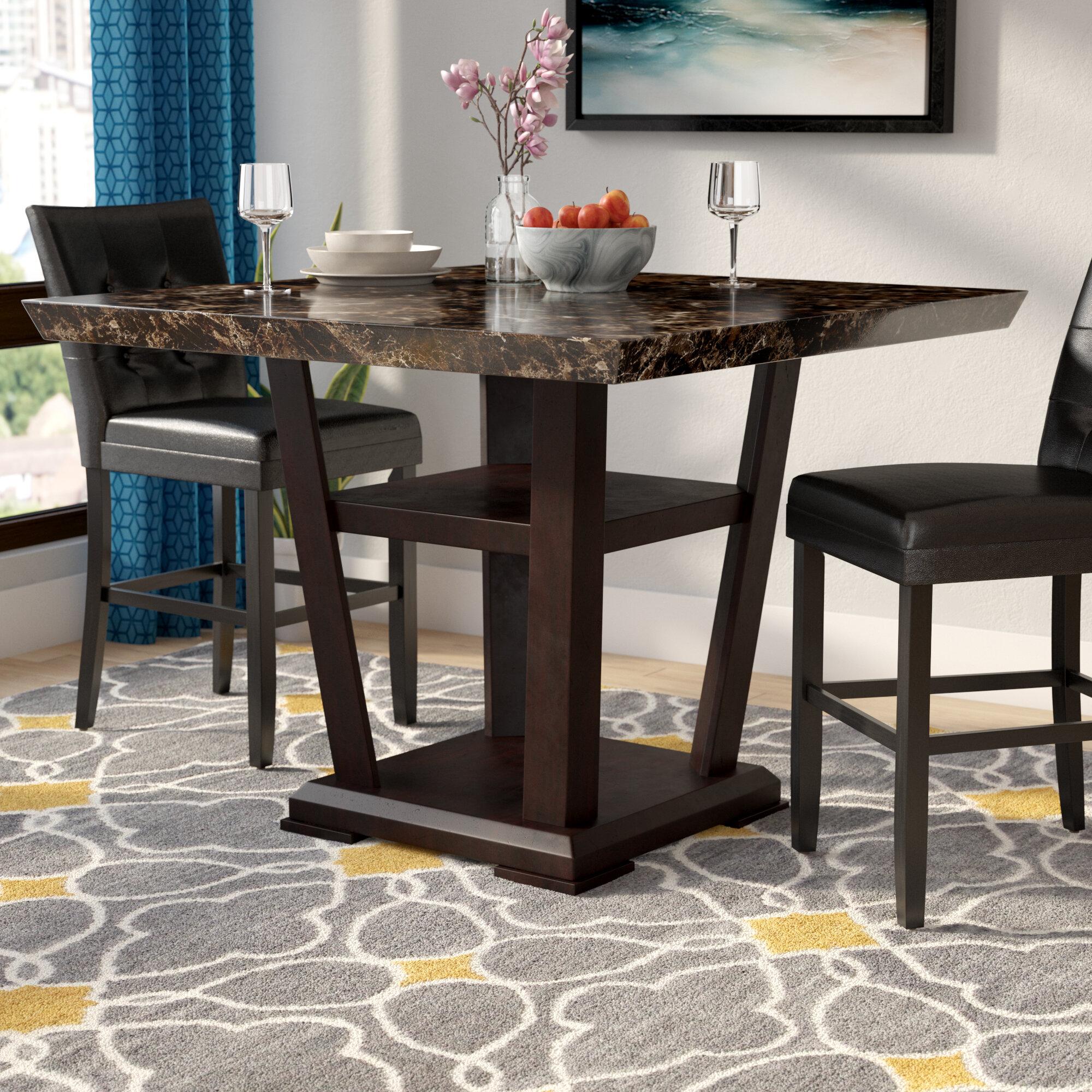 Latitude Run Counter Height Dining Table Reviews Wayfair