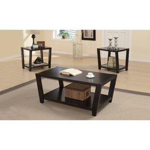 Deters Convenient 3 Piece Coffee Table Set by Latitude Run