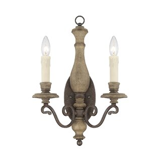 Great choice 2-Light Candle Wall Light By Birch Lane™