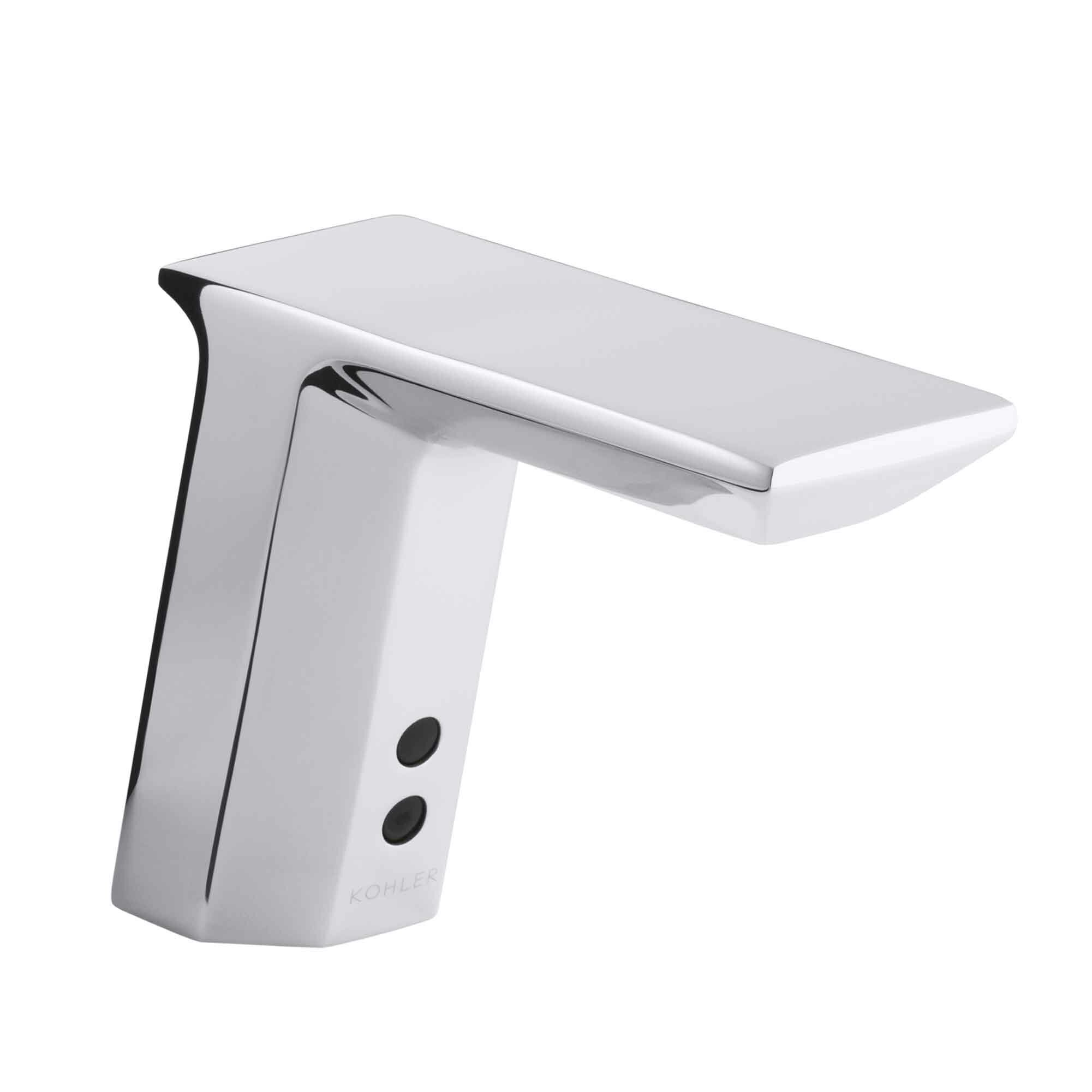 KCPVS Kohler Geometric SingleHole Touchless DcPowered - Commercial bathroom faucets touchless