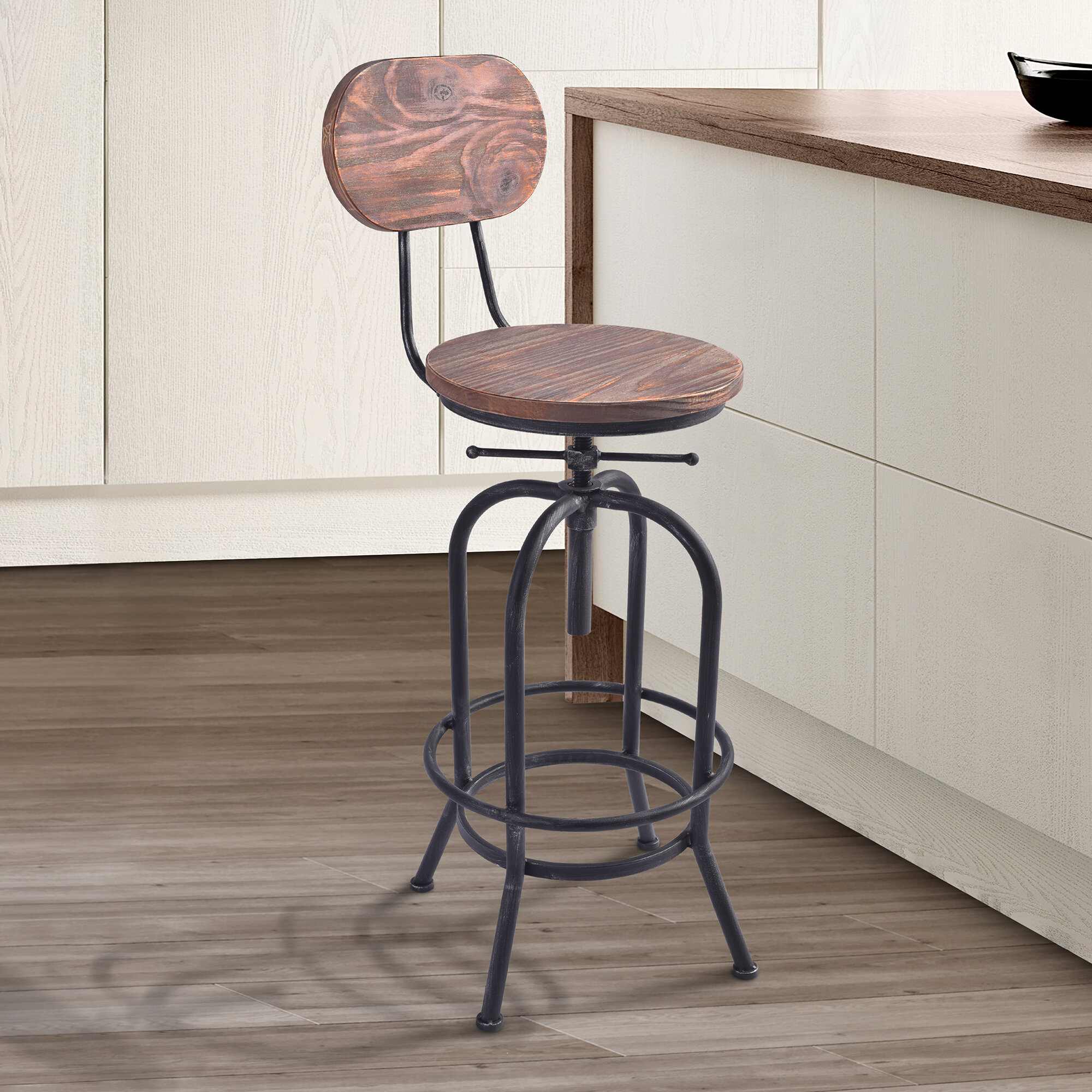 Awe Inspiring Pine Metal Bar Stools Youll Love In 2019 Wayfair Alphanode Cool Chair Designs And Ideas Alphanodeonline