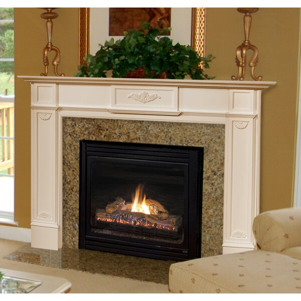pearl mantels 56 quot monticello fireplace mantel surround amp reviews wayfair