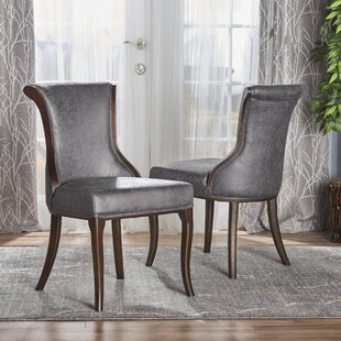 Glenhaven Upholstered Dining Chair (Set of 2) Bloomsbury Market
