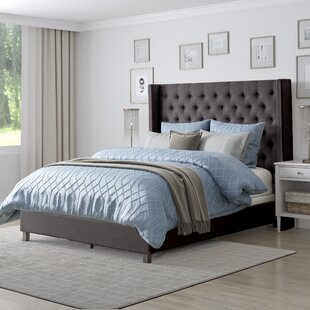 Debord Upholstered Panel Bed by Darby Home Co