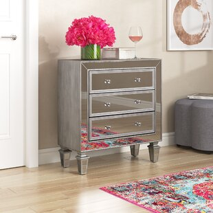 Brinley 3 Drawer Accent Chest by House of Hampton