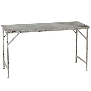 Archer Distressed Galvanized Coffee Table