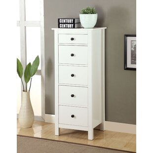 Johannes 5 Drawer Accent Chest By Winston Porter