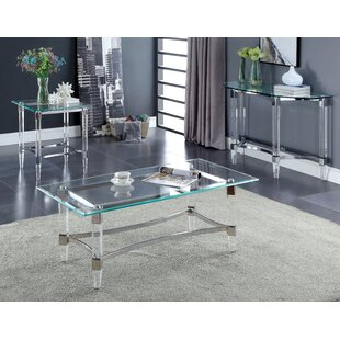 Baur 3 Piece Coffee Table Set