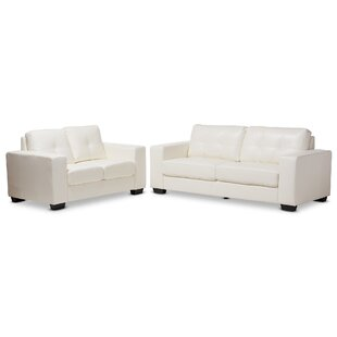 Affordable Rogich 2 Piece Living Room Set by Latitude Run Reviews (2019) & Buyer's Guide