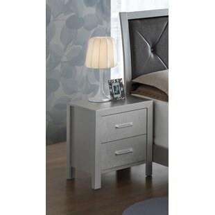 Raye 2 Drawer Nightstand
