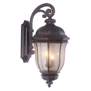 Compare Oakhill Peruvian Bronze 3-Light Outdoor Wall Lantern By Charlton Home