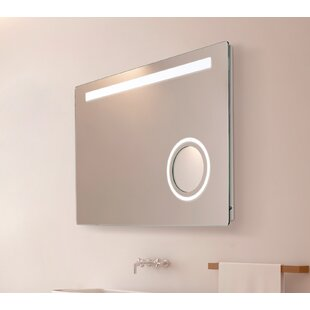Pringle LED Bathroom Mirror By Orren Ellis