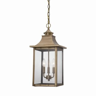 Reviews Dillion 3-Light Outdoor Hanging Lantern By 17 Stories