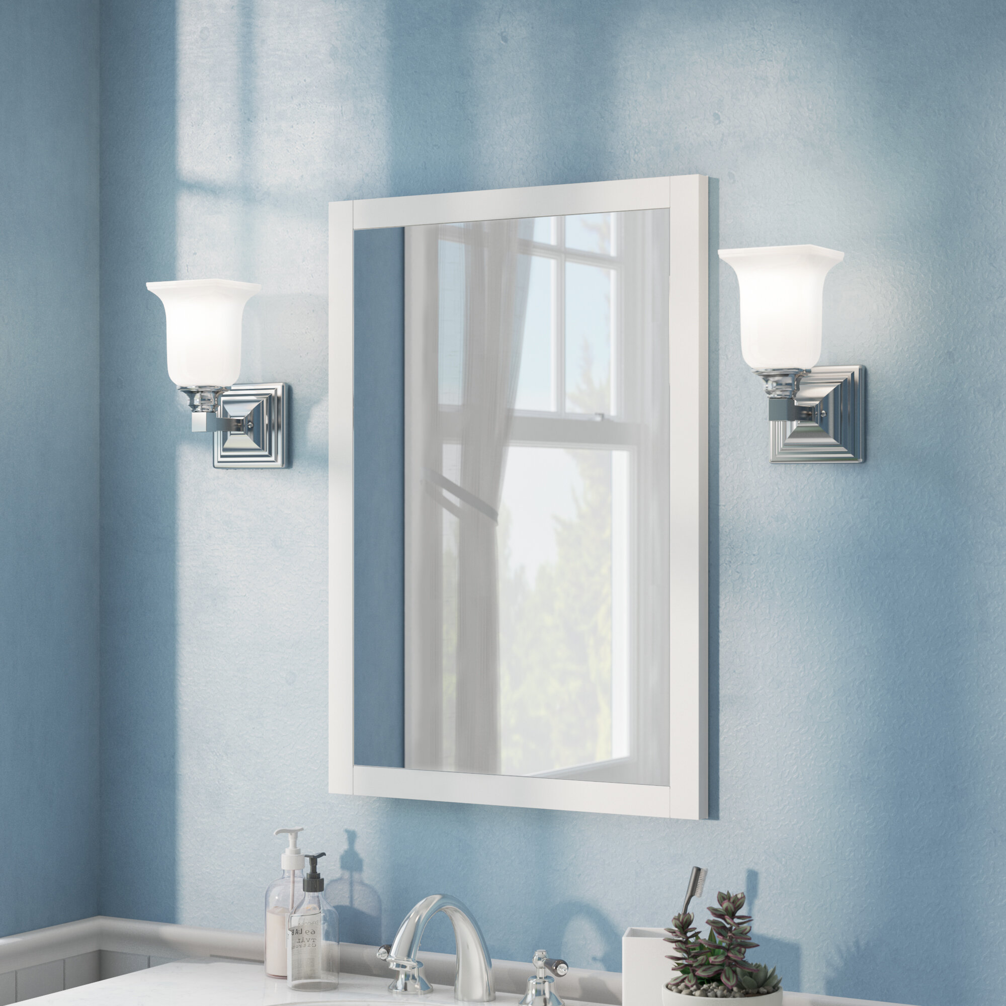Contemporary Bathroom Vanity Mirror