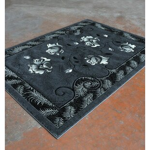 Compare prices Antracite/Black Area Rug ByRug Tycoon
