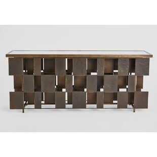 Layered Console Table