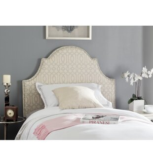 Affordable West Vero Twin Upholstered Panel Headboard by Harriet Bee