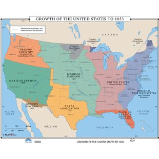 Historical Wall Maps Youll Love Wayfair - Historical-us-maps