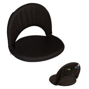 Media Portable Multiuse Adjustable Reclining Stadium Seat with Cushion